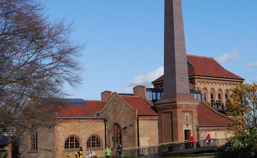 A range of Ketley products were used on this restoration project at Walthamstow Wetlands