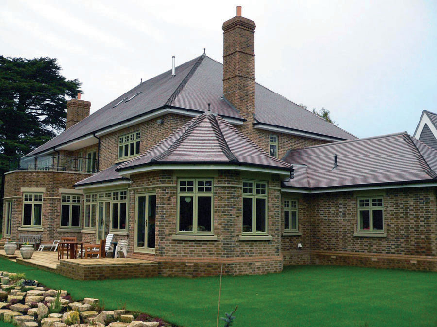 An Award Winning Blue Brindle roof in Poole Dorset