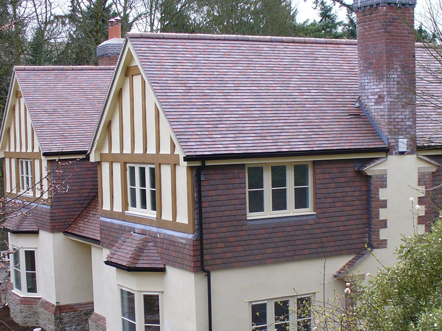 Dreadnought Collingwood Blend Sand faced roof tiles