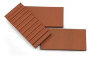 Red paver ribbed back183x116px