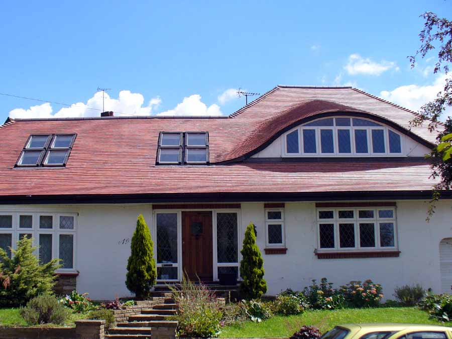 A Curved Roofing Gallery Of Dreadnought Tiles Projects