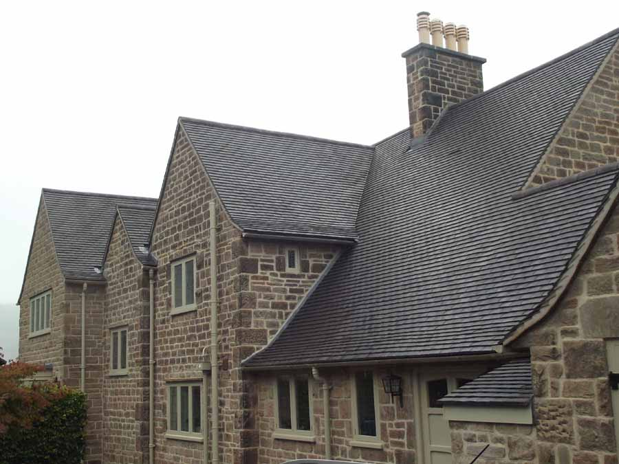 Staffordshire Blue Handmade Classic clay roof tiles