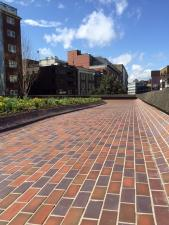 Quarry Tiles at the Barbican