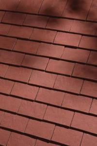 Classic Deep Red Handmade clay tiles