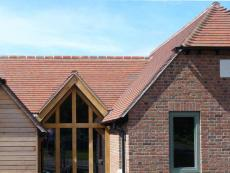 Country Brown Sandfaced clay roof tiles