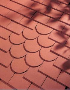 Dreadnought red sandfaced plain clay tiles