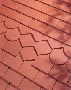 Dreadnought Red smoothfaced plain clay tiles