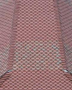 Plum Red tiles with ornamentals and specials