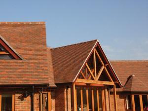 Dreadnought Collingwood Blend Plain Clay Roof Tiles