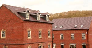 Jackfield Site Roof With Dreadnought Tiles Plain Clay Roof