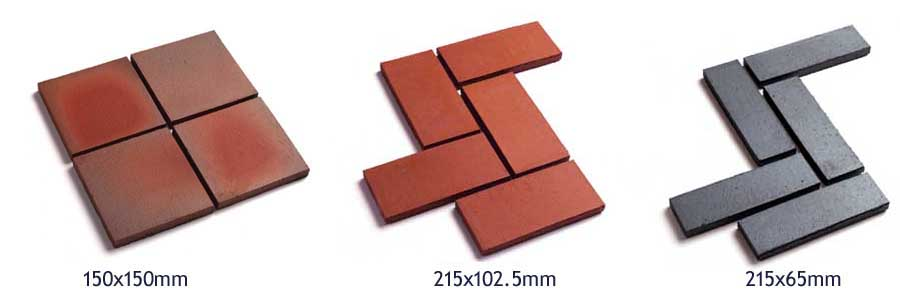 quarry tile landing 3 sizes